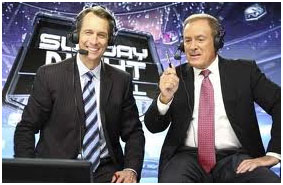 Al Michaels with Cris Collinsworth