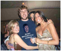 Ben Rothlisberger with 3 woman