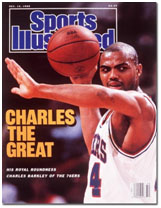 Charles Barkley on cover of sports illustrated