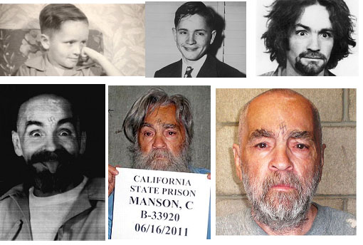 Charles Manson photos through the years