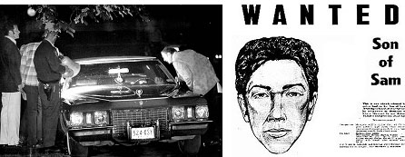 David Berkowitz son of sam wanted poster