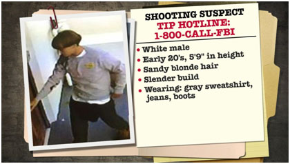 Dylan Roof wanted poster