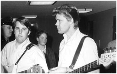 Glen Campbell with the beach boys