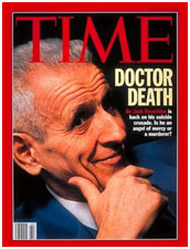Jack Kevorkian on the cover of Time Magazine