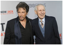 Al Pacino portraying Jack Kevorkian for a movie