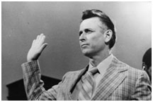James Earl Ray in court