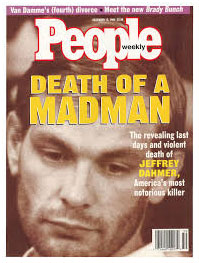 Dahmer on cover of People magazine after his death