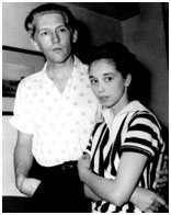Jerry Lee Lewis with his wife, who is also his cousin