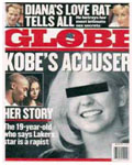 Kobe Bryant on cover of tabloids