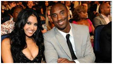 Kobe Bryant and Vanessa Laine