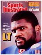 Lawrence Taylor on cover of sports illustrated