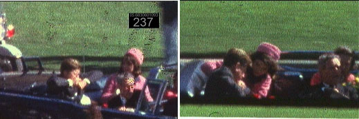 JFK right after he was shot