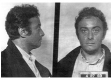 Lenny Bruce mugshot for drug posession