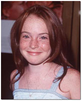 Lindsay Lohan childhood photo