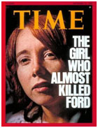 Lynette Fromme on cover of Time magazine