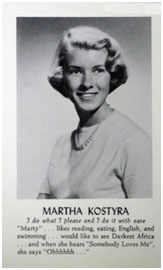 Martha Stewart modeling picture