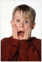McCauley Culkin in Home Alone