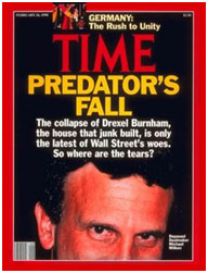 Michael Milken on the cover of Time magazine