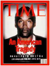 o.j. simpson on cover of time amgazine
