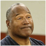 o.j. simpson after his last arrest