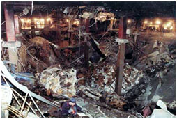aftermath of world trade center bombing