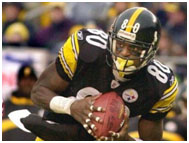 Plaxico Burress on the steelers