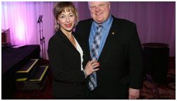 Rob Ford and Renata Brejniak