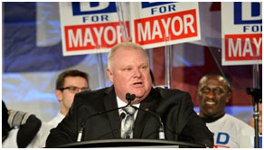 Rob Ford running for mayor in 2014