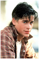 Rob Lowe in the outsiders