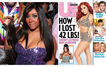 Snooki before and after weight loss