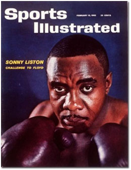 Sonny Liston on cover of sports illustrated