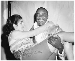 Sonny Liston with his wife