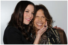 Steven Tyler with Liv Tyler