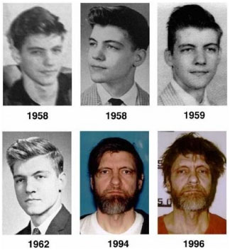 The Unabomber, through the years