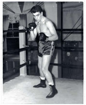 Vincent Gigante in the boxing ring